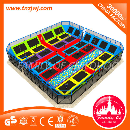 Design Gymnastics Trampoline Fitness Equipment pictures & photos