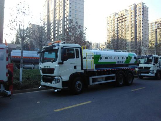 2017 25m3 Sprinkler Tanker Truck for Water Transportation