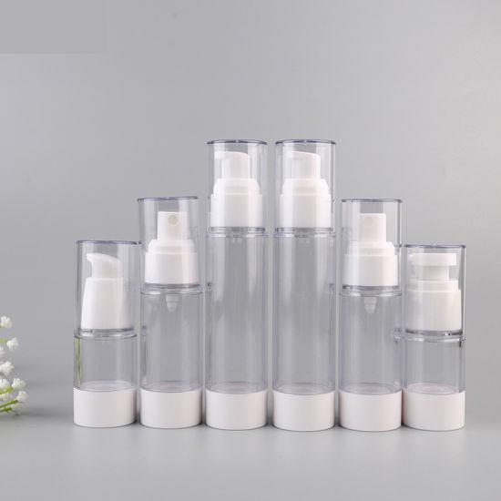 Wholesale Plastic Airless Bottles Dispenser Pump Bottle