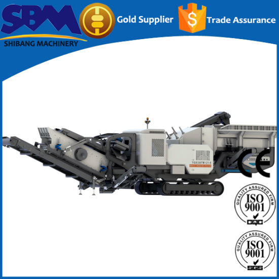Rock Crusher Mobile, Small Portable Rock Ore Crusher pictures & photos