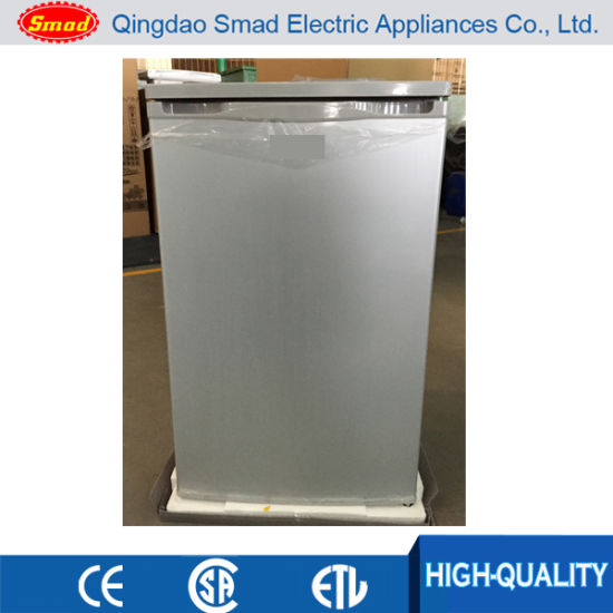 china black color single door mini refrigerator with lock and key