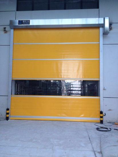 China Automatic High Speed Workshop Industrial Roller Shutter Door
