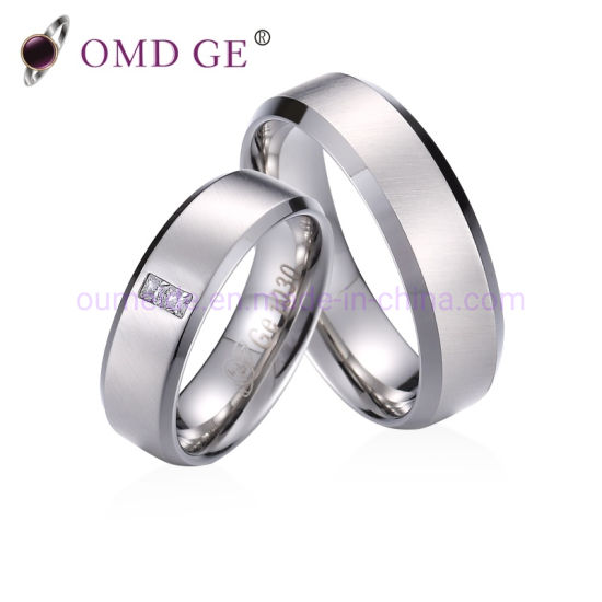 High Polishing Engagement Cubic Zircon Fashion Accessories Sterling Silver Rings