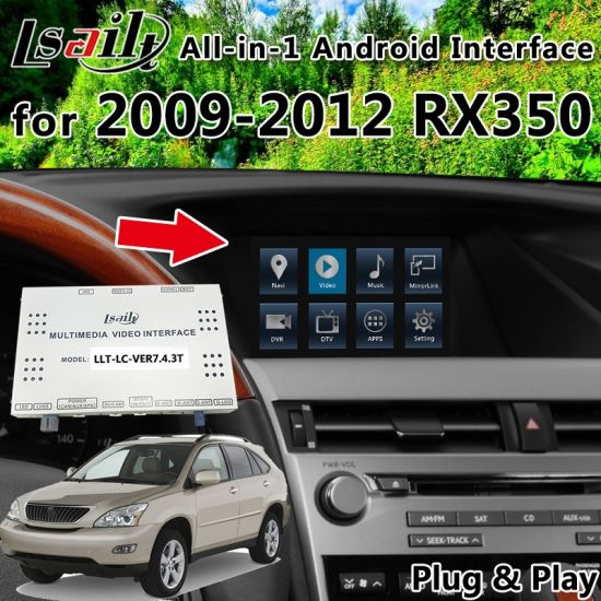 China All-in-1 Plug&Play Android Interface GPS Navigator for 2009