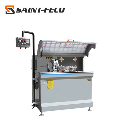 Aluminum Profile Auto Feeding CNC Corner Connector Cutting Machine