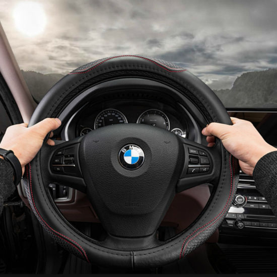 Leather Steering Wheel Cover for BMW pictures & photos