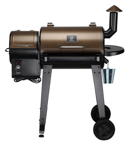 Smoker Wood Pellet Grill BBQ Grill Cooking Area 450 Sq. in.