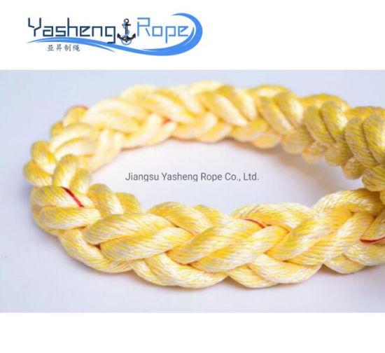 China 40mm 8 Strand Hollow Braid Polypropylene Marine Rope - China