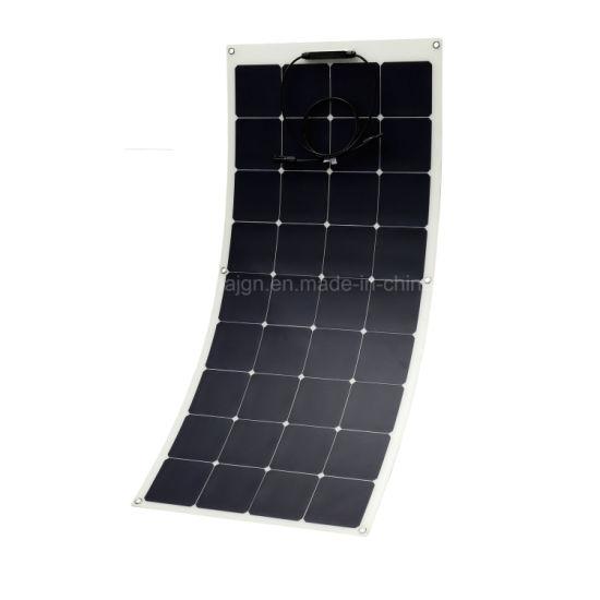 China 120W Semi-Flexible Sunpower Pet Solar Panel, Sunpower Solar