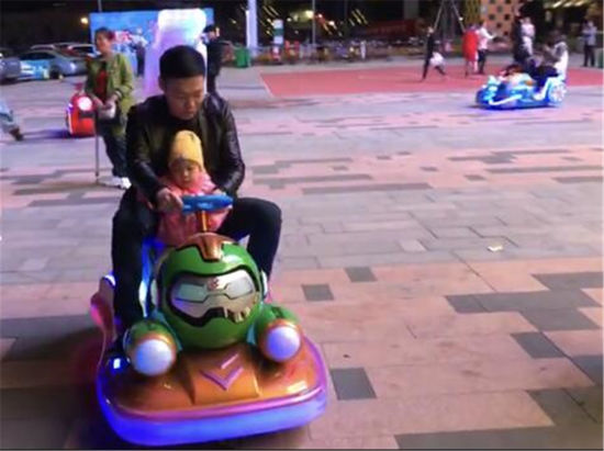 Amusement Kids Car Coin Operated Electronic Kiddie Ride Playground Equipment