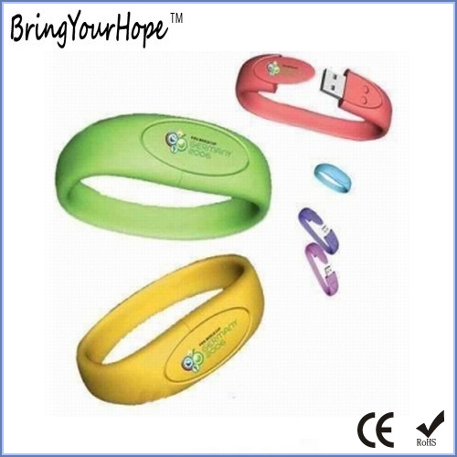 Kids Wrist Band USB Flash Disk (XH-USB-030) pictures & photos