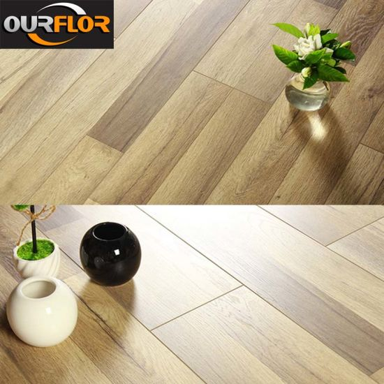 China Glue Free PVC WPC Click Vinyl Flooring Tiles / Planks - China ...