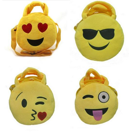 Emoji Stuffed Plush Bag for Gift pictures & photos