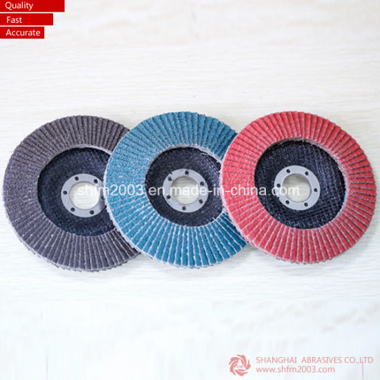 125mm Zirconia Flap Disc pictures & photos