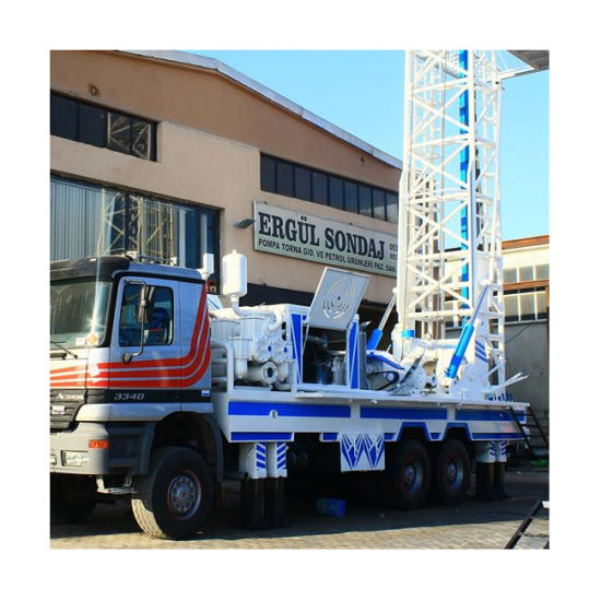Kxd400 Truck Mounted Water Well Drilling Rig (400m)