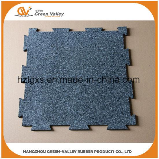 Shock Resistant EPDM Stars Puzzle Rubber Flooring Tiles Mats for Crossfit