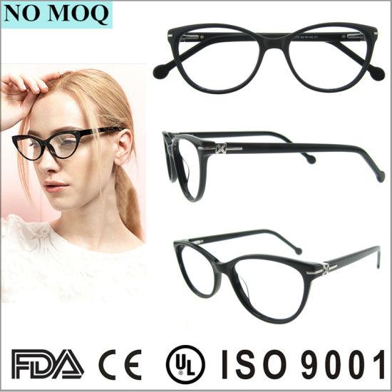 China Hot Sale Eyeglasses Full Rim Acetate Optical Frame Glasses ...