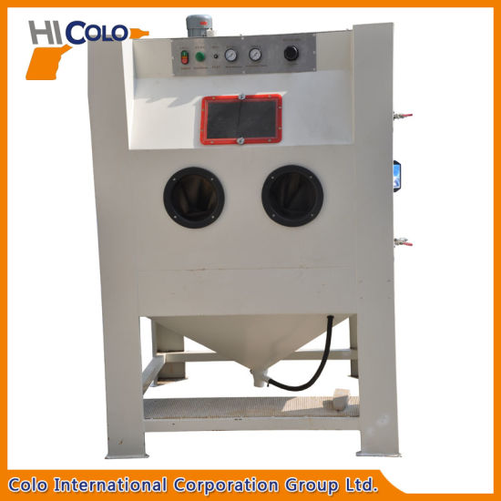 Single Station Sand Blasting Machine for Car Parts pictures & photos