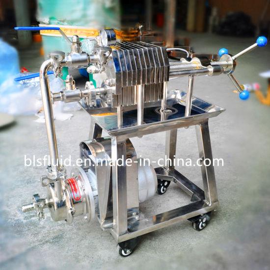 Wbg10-200 Plate Frame Filter for Beer Wort (PP filter paper)