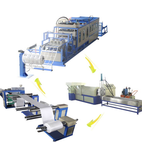 Ce Certification Disposable PS Food Box Forming Machine
