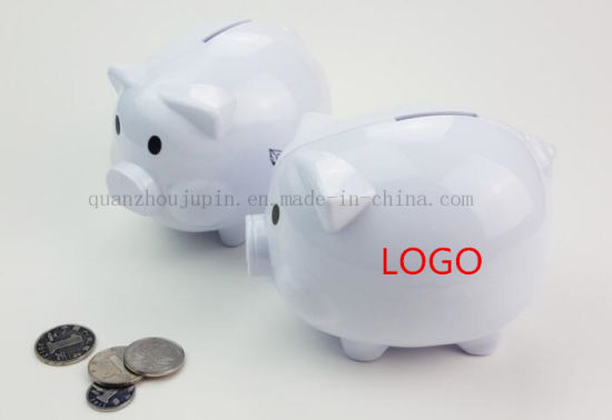 OEM Logo Ceramic Decorative Craft Piggy Bank for Promotional Gift pictures & photos