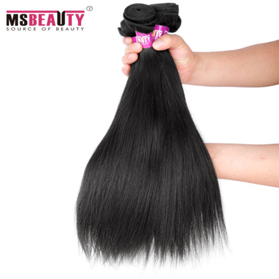 Full Cutitle Virgin Mink Silk Straight Brazilian Hair pictures & photos