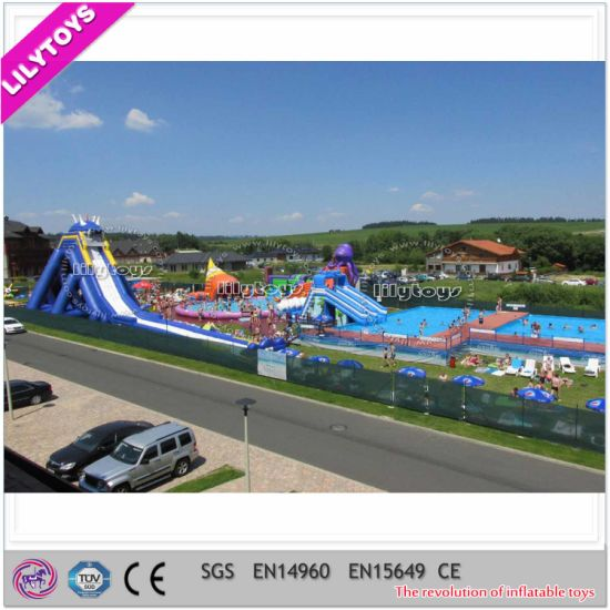 New Design Giant Inflatable Moving Park for Holiday pictures & photos