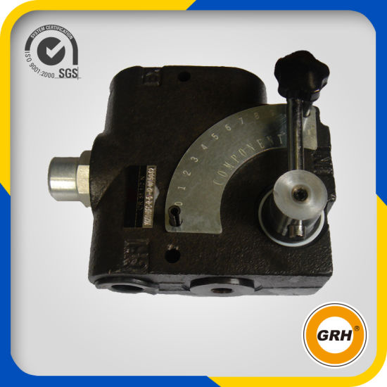 China OEM Hydraulic 40lpm Flow Control Valve with 3/8 NPT pictures & photos