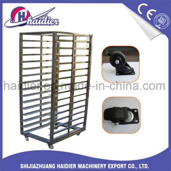 Bakery Trolley Stainless Steel Food Carts Racks For Rotary Oven