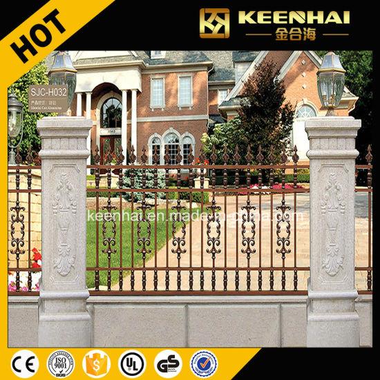 Hot Sale Outdoor Villa Fence Design Aluminum Garden Fencing