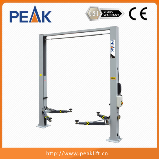 China 4 Tons 2 Post Car Lift With Manual Release 209ch China Car