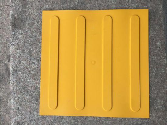 400 400mm Pvc Tpu Anti Slip Blind Tactile Indicator Tile