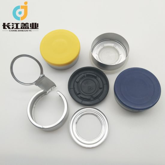 32mm Three Pieces Style Flip Tear off Cap