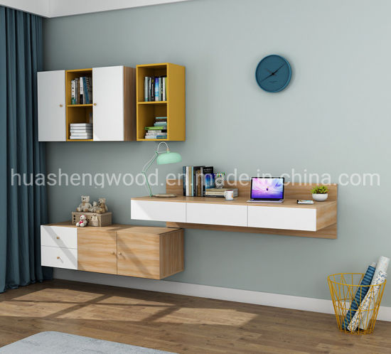 China High Quality Melamine Panel Board Wall Mounted Cabinet