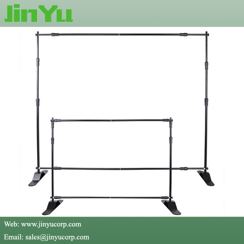 Adjustable Telescopic Portable Backdrop Banner Stand pictures & photos