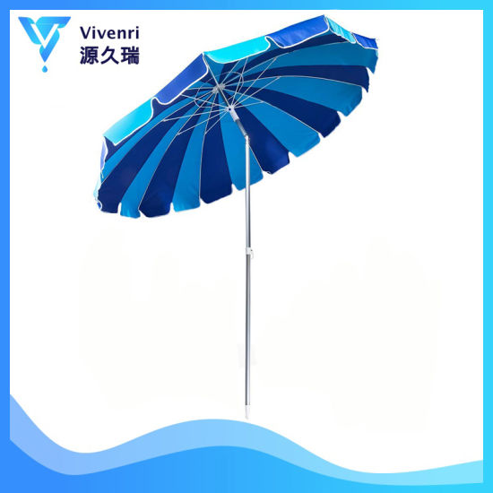 Giant Heavy Duty 8ft Beach Umbrella