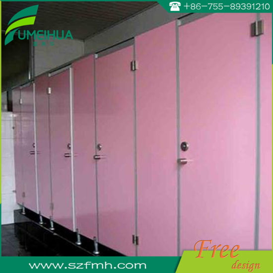 China Decorative Waterproof Bathroom Phenolic Resin Shower Toilet Delectable Phenolic Bathroom Partitions Decor