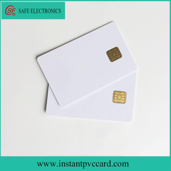 Blank Ink Printing Sle4428 Chip PVC Card