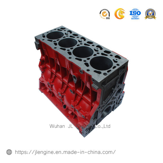 Isf3.8 Cylinder Block 5256400 for Foton Truck Diesel Engine