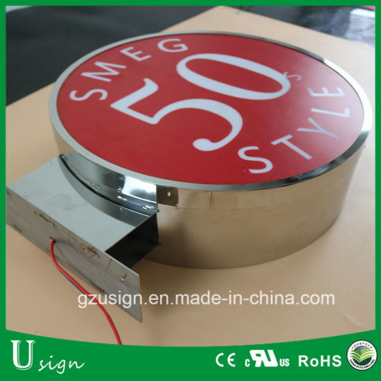 LED Adveritinsg Acrylic vacuum Forming Sign