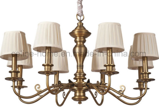 Good Quality Iron Pendant Lamp with Copper Decoration (SL2085-6) pictures & photos