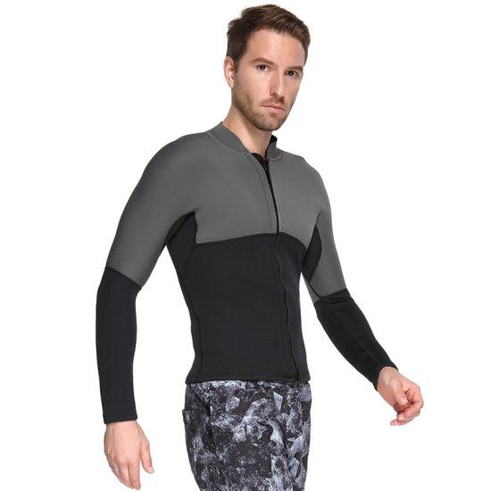 Surf Squared Mens 3mm Neoprene Wetsuit Top Jacket