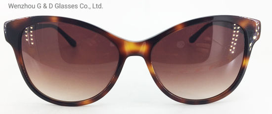 Great Quality Model China Factory Wholesale Acetate Frame Sunglasses
