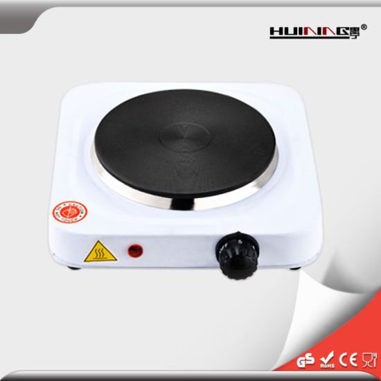 1500W Electric Portable Single Flat Burner Heating Hot Plate pictures & photos