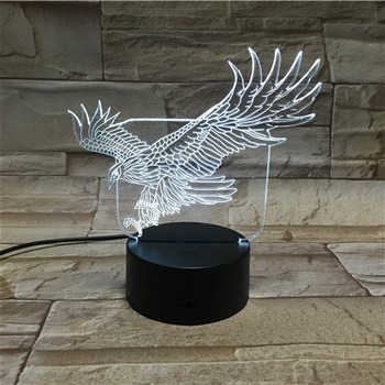 Acrylic Gifts and Crafts 3D LED Decorations