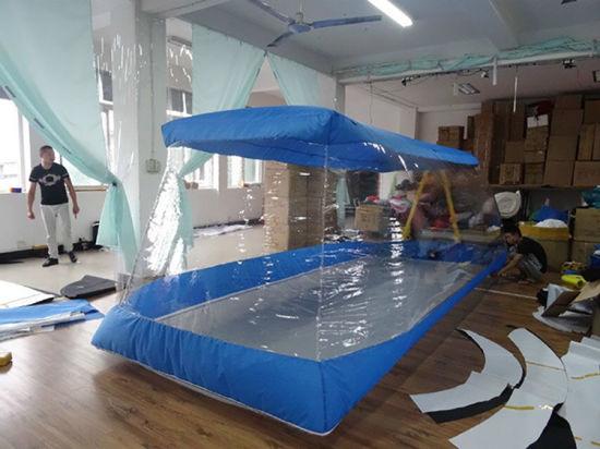 Inflatable Bubble Capsule Tent Transparent Car Cover Garage Tent