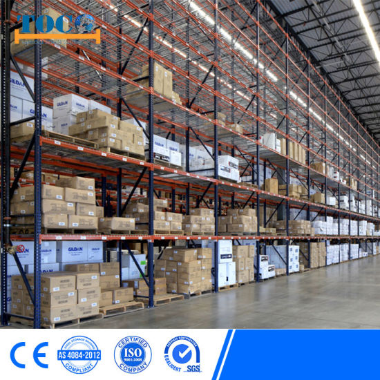 Cold Storage Warehouse Radio Shuttle Pallet Racking System