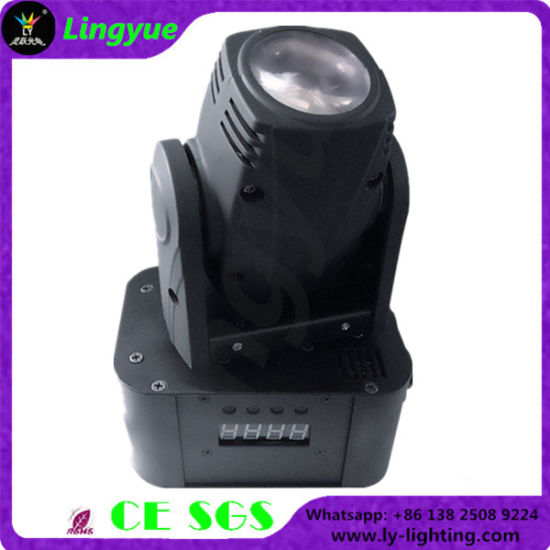 10W Mini LED Moving Head Effect Light (LY-110S) pictures & photos