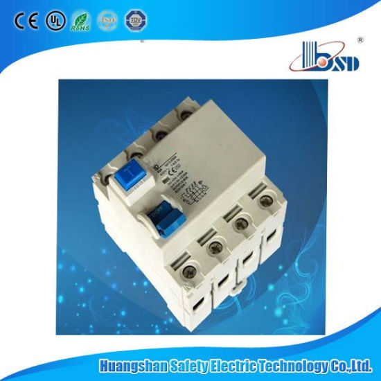 2016 China Wholesale ID 4p 63A 100mA Residual Current Circuit Breaker pictures & photos
