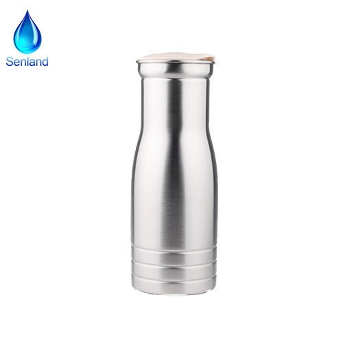 800ml Stainless Steel Single Wall Water Pitcher/Carafe/Jug/Pot (SL-2208)